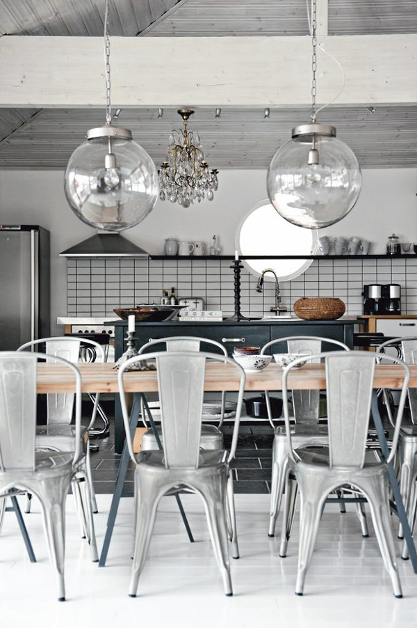 Precioso duplex industrial vintage interiores chic for Blog de decoracion de interiores