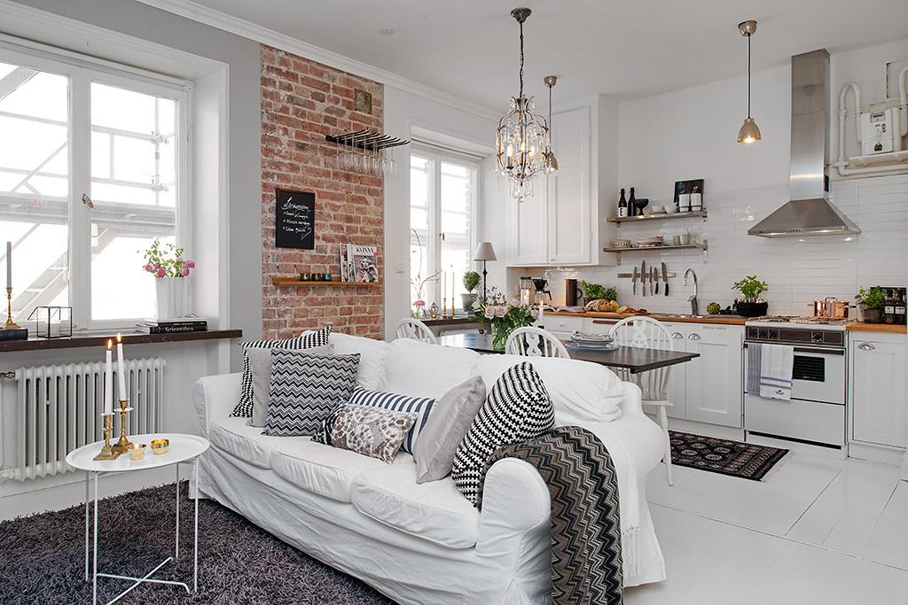 Apartamento de 35m2 encantador. – Interiores Chic   Blog de ...