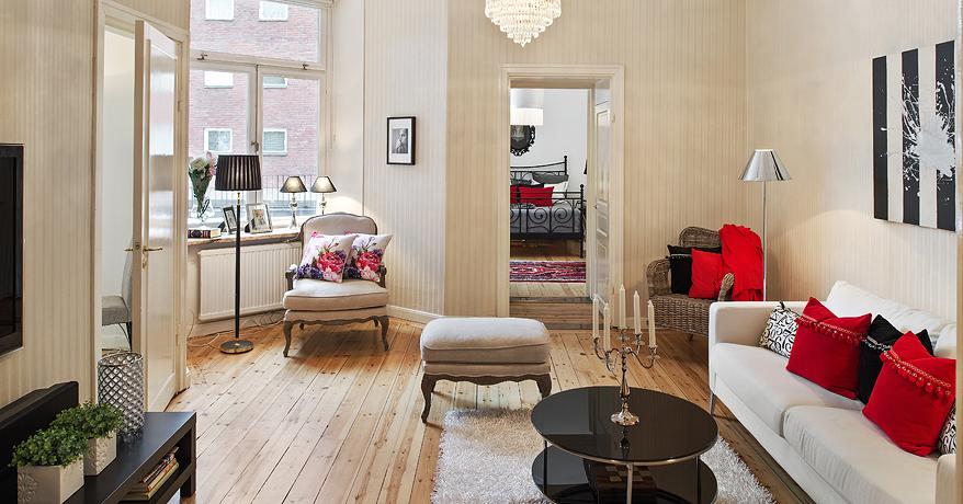 Clasico y moderno se dan la mano interiores chic blog for Decoracion estilo clasico moderno