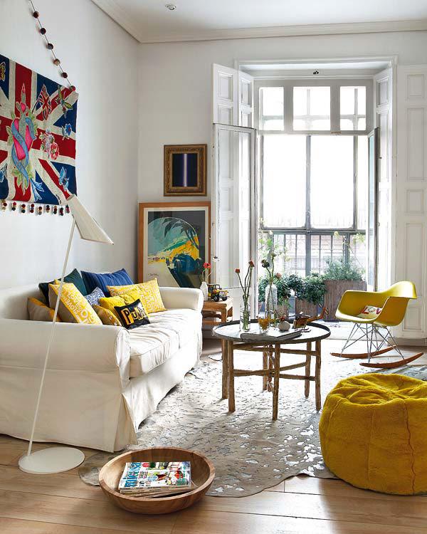 Colorido apartamento en madrid interiores chic blog - Decoracion interiores madrid ...