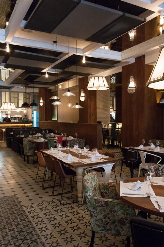 El txoko de la mary restaurante en bilbao interiores - Decoracion de interiores bilbao ...