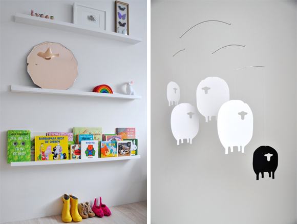 Estilo n rdico en habitaciones infantiles interiores - Habitaciones infantiles estilo nordico ...