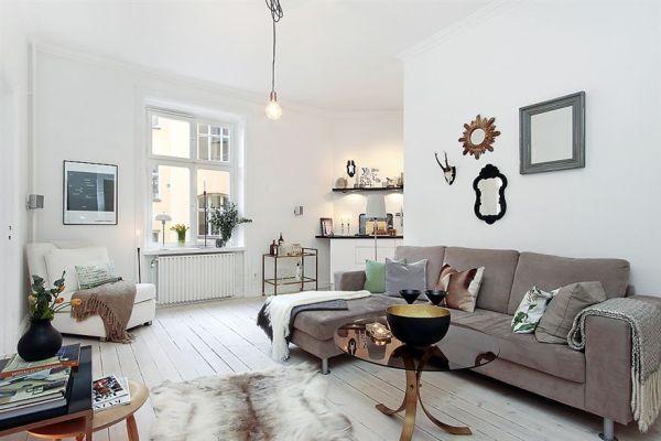 Apartamento con aires vintage en 50m2 interiores chic for 50m2 wohnung einrichten