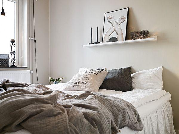 Dormitorios con aires n rdicos interiores chic blog de decoraci n n rdica - Habitaciones nordicas ...