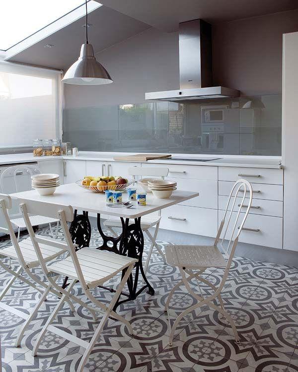 Cristal en el frente de cocina&chic. – Interiores Chic | Blog de ...