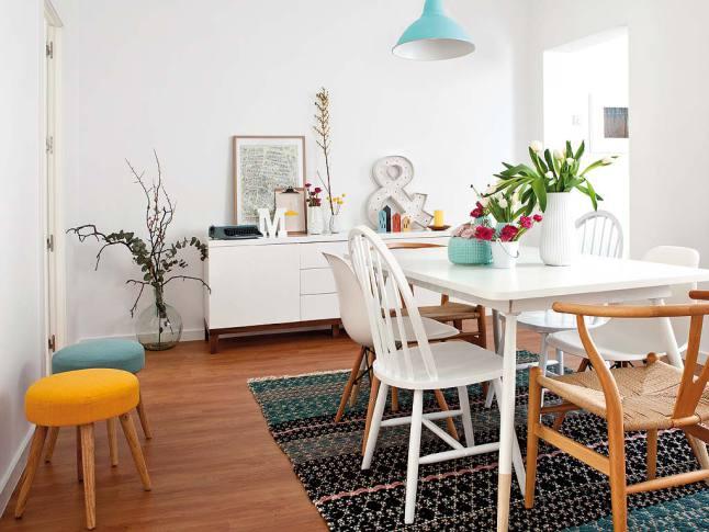 Convierte un piso de alquiler en t hogar interiores for Decoracion nordica pisos pequenos