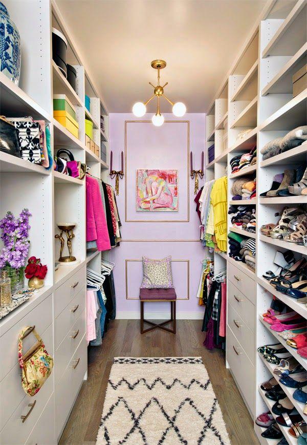 Crear el vestidor de tus sue os interiores chic blog for Closets abiertos pequenos