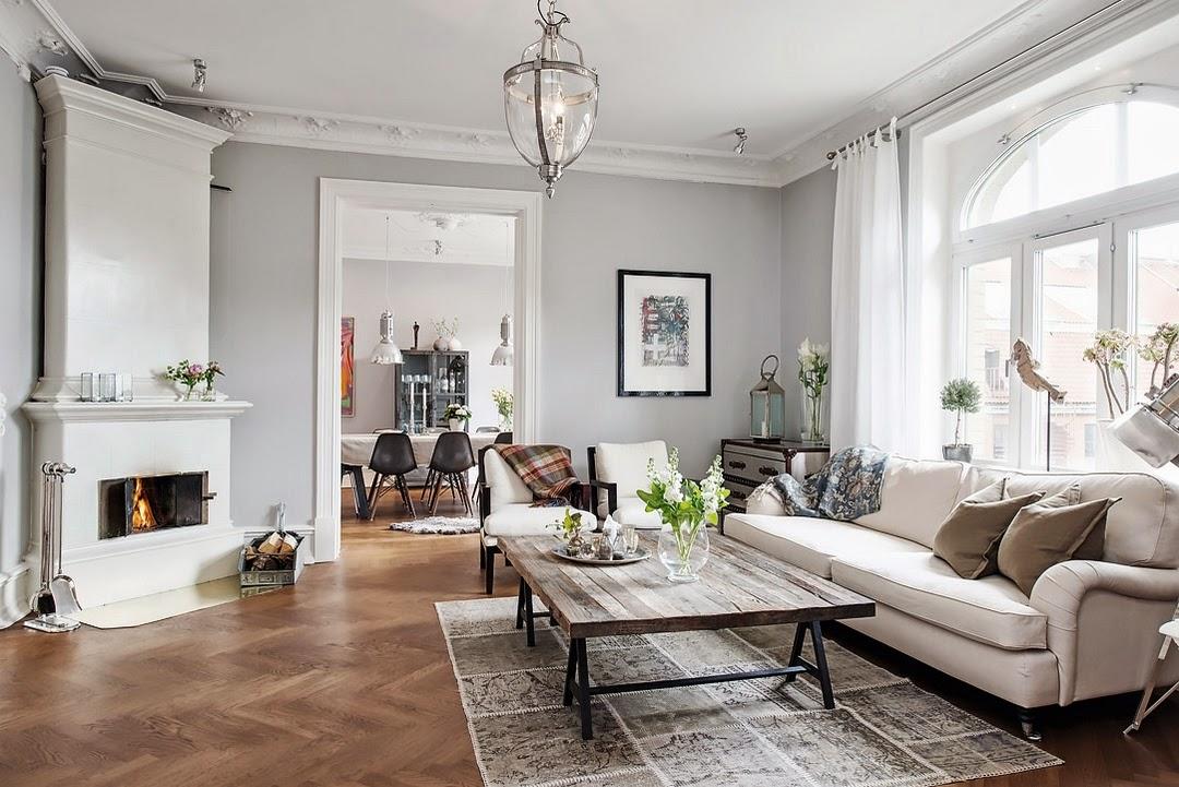 Mezclar estilos elegancia interiores chic blog de for Decoracion de interiores clasico elegante