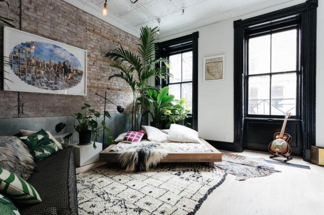 Apartamento de soltero fuera reglas interiores chic for Diseno de apartamento de soltero