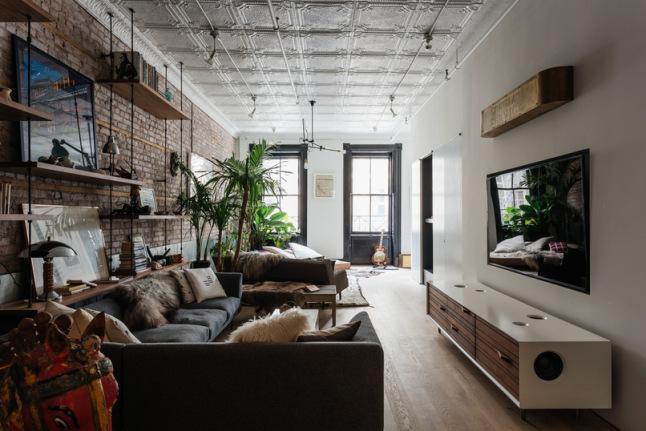 Apartamento de soltero fuera reglas interiores chic for Decoracion piso soltero