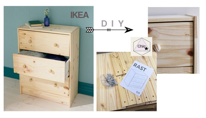 Marca la diferencia con tus muebles de ikea paperblog - Tunear muebles ikea ...