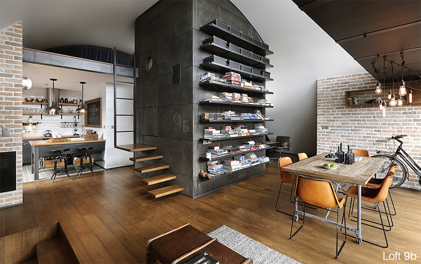 La elegancia del estilo industrial para los chicos. – Interiores ...