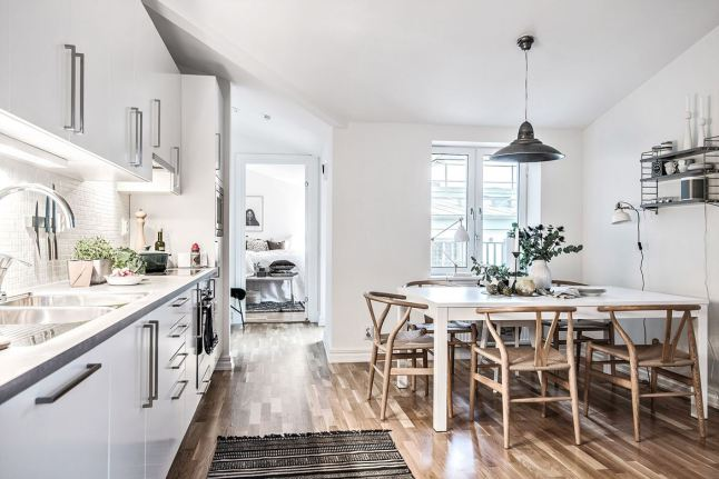 Puro estilo n rdico en la cocina paperblog - Cocinas estilo nordico ...