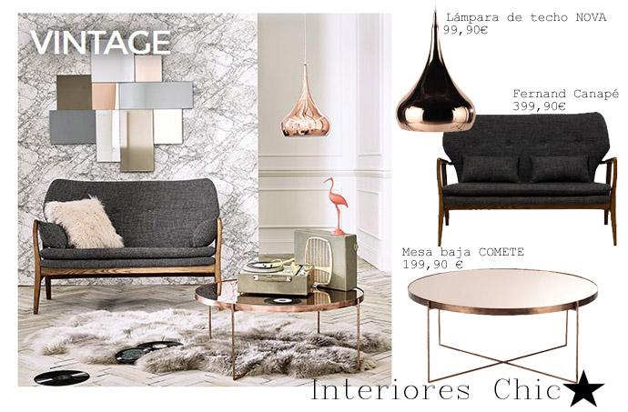 Maisons du monde estilo vintage interiores chic blog for La maison du monde catalogue 2016
