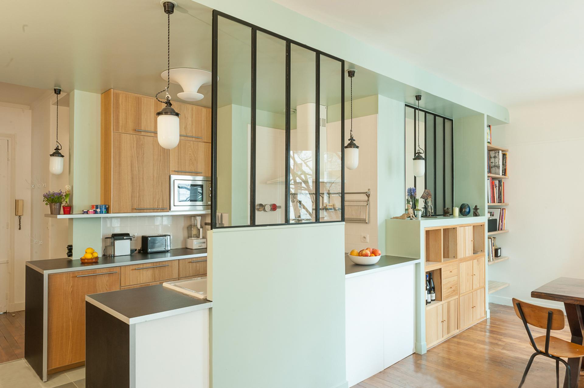 La filosof a de las cocinas abiertas interiores chic for Cocinas abiertas al comedor