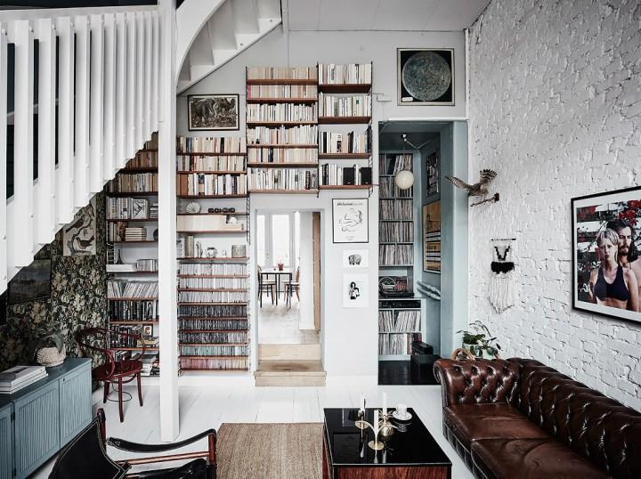 Libros discos y una decoraci n de colecci n - Libros de decoracion de interiores ...