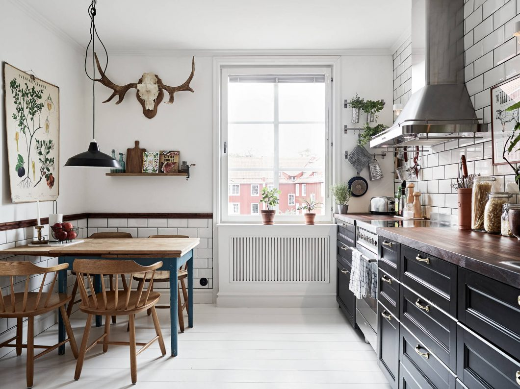 Una cocina n rdica country interiores chic blog de decoraci n n rdica - Blog de decoracion de interiores ...