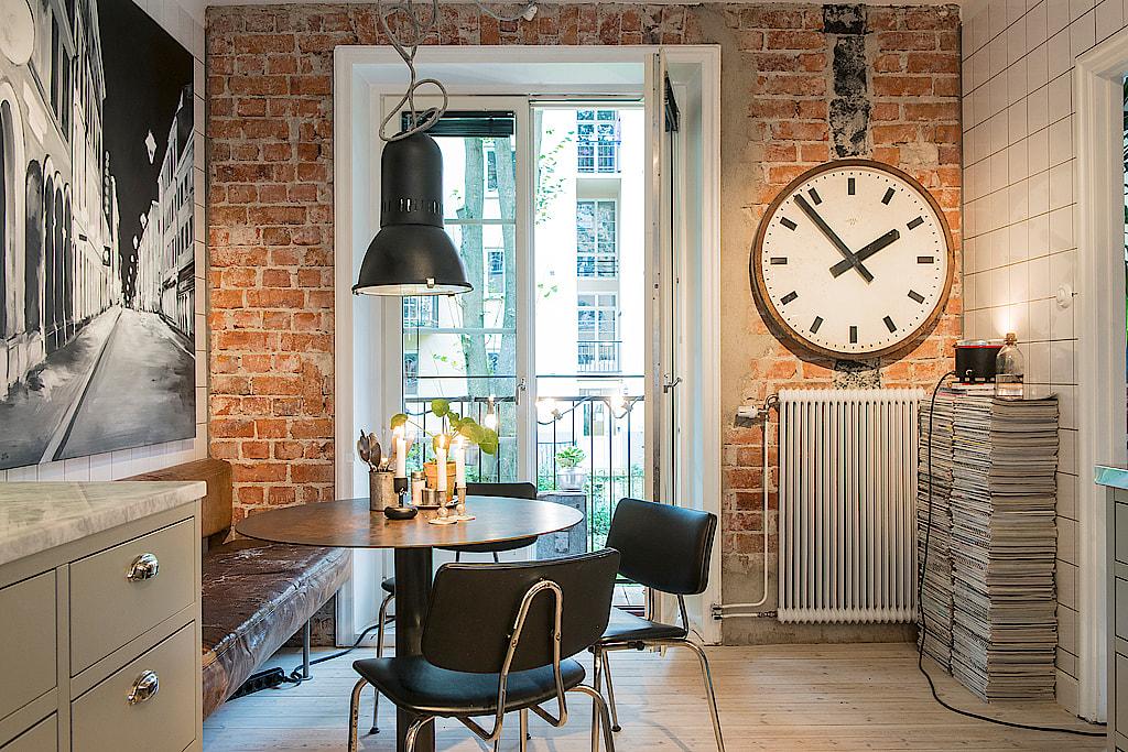 Una cocina y el ladrillo visto interiores chic blog de for Cocinas de ladrillo