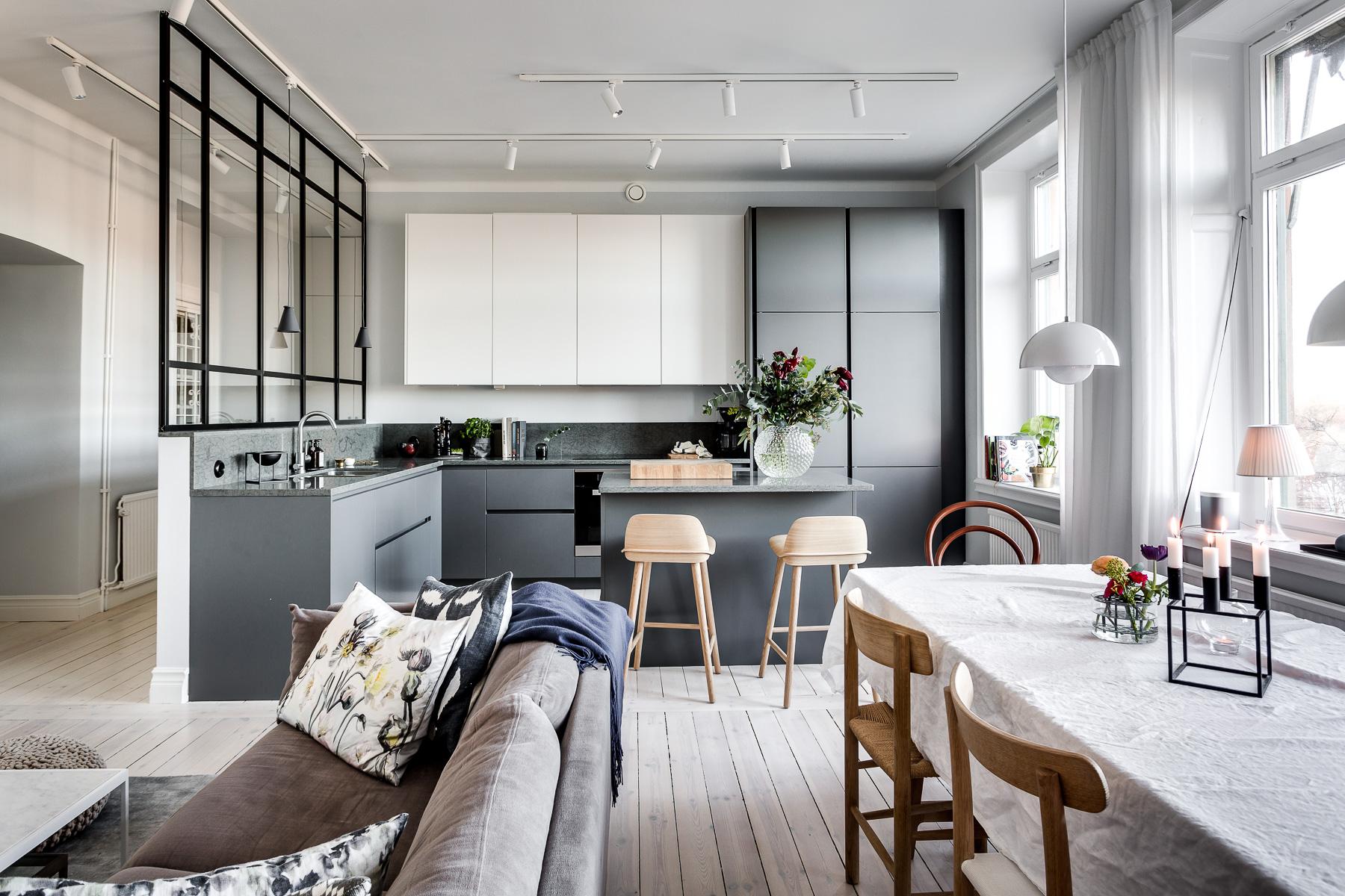 Separar Ambientes Con Cristal Trendy Puertas Correderas Ikea Para  ~ Mamparas De Cristal Para Separar Ambientes