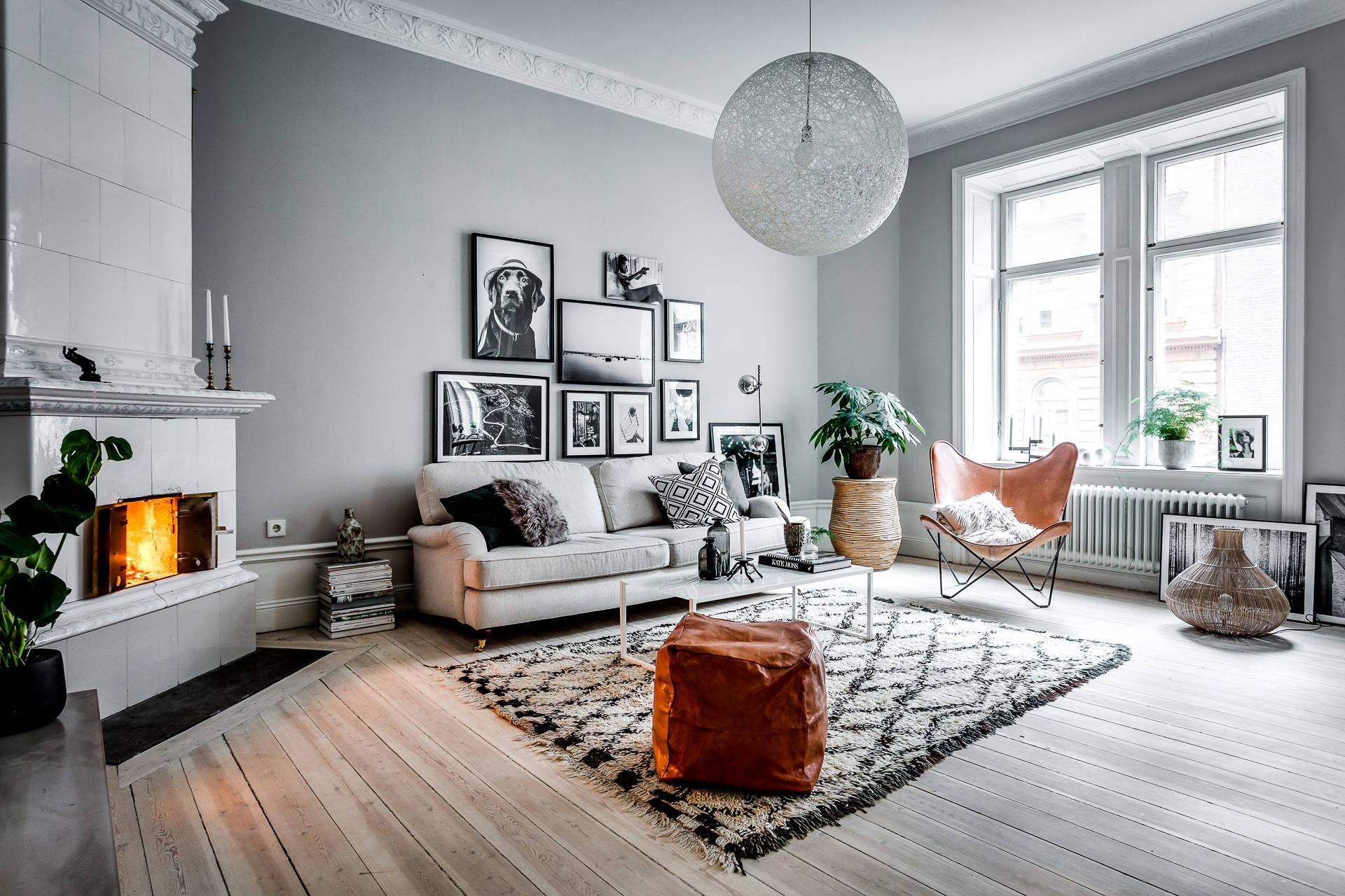 Glamour en la cocina con m rmol y cobre interiores chic - Colores grises para salones ...