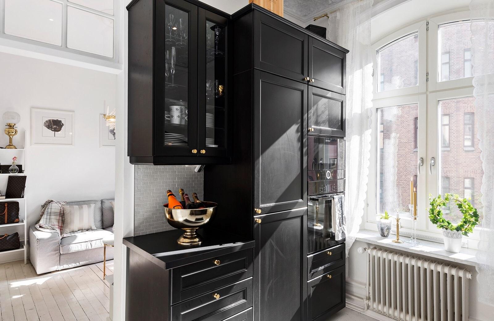 Convierte tu cocina laxarby de ikea en una cocina chic for Decoracion cocinas ikea