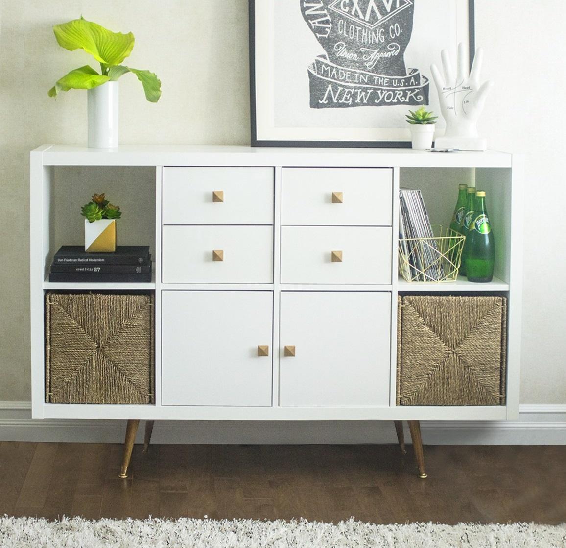 Diy estanter a kallax de ikea interiores chic blog de decoraci n n rdica - Diy meuble ikea ...