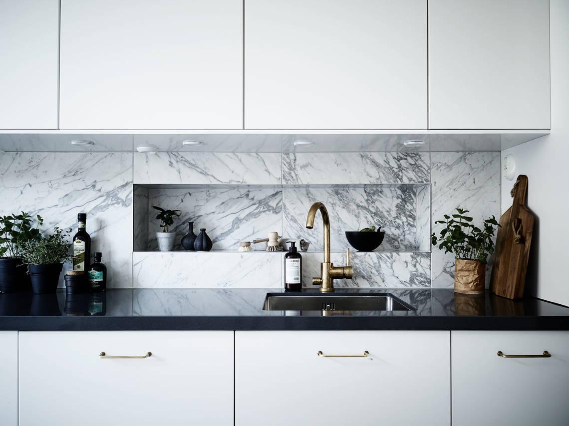 Mármol de Carrara y las cocinas nórdicas. – Interiores Chic | Blog ...