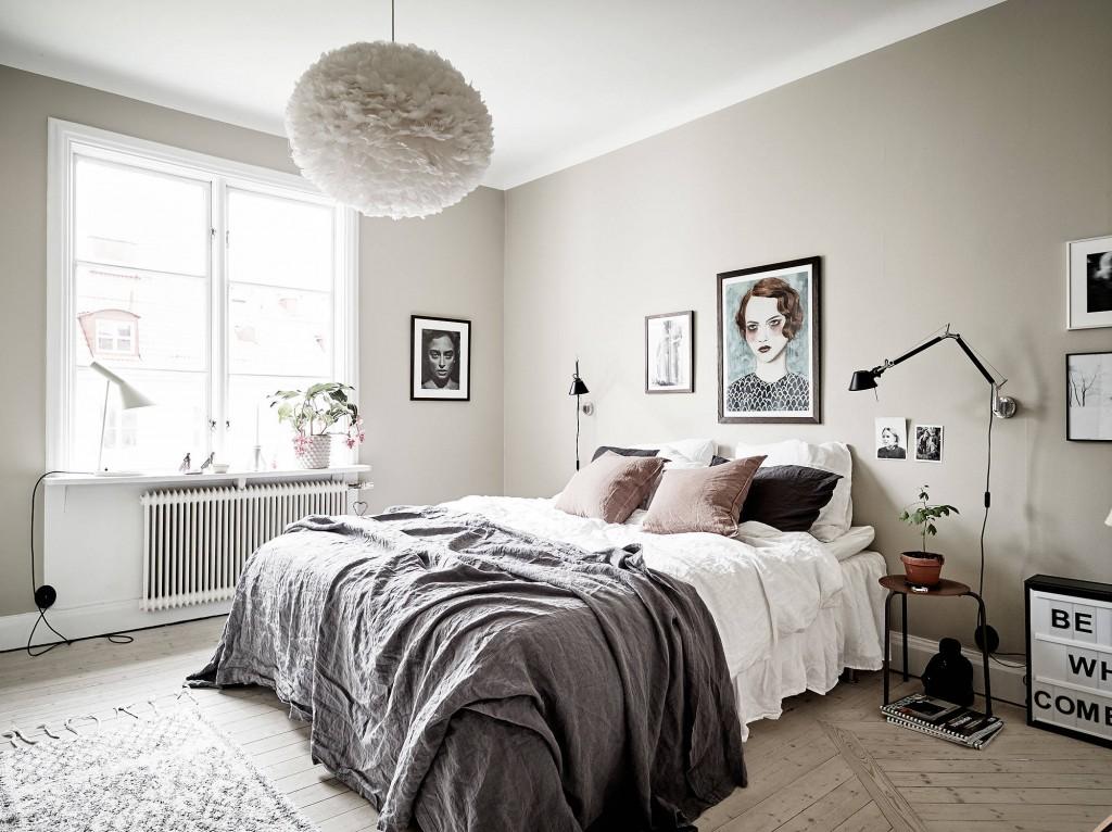 Claves para una un dormitorio n rdico interiores chic for Habitacion matrimonio estilo nordico