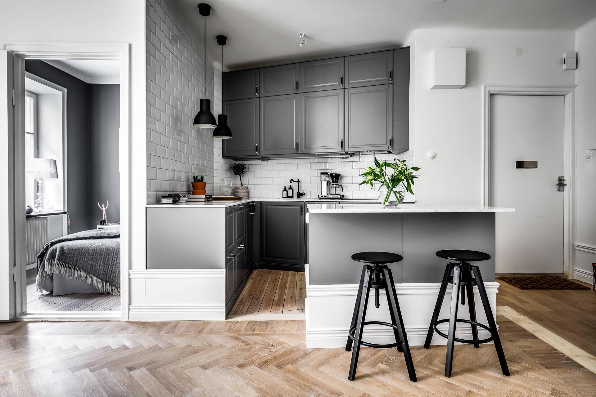 Azulejo biselado para una cocina n rdica interiores chic blog de decoraci n n rdica - Decoracion de azulejos ...