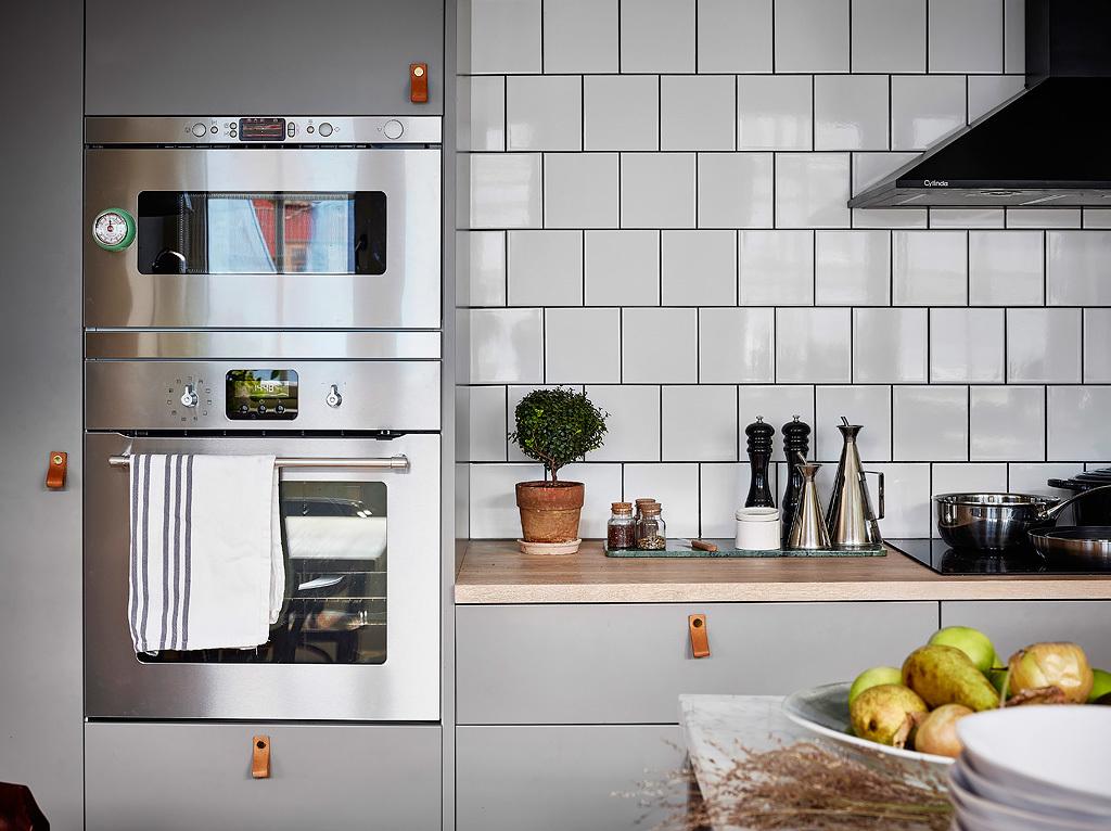 Verde que te quiero verde para la cocina interiores for Cocina encimera verde