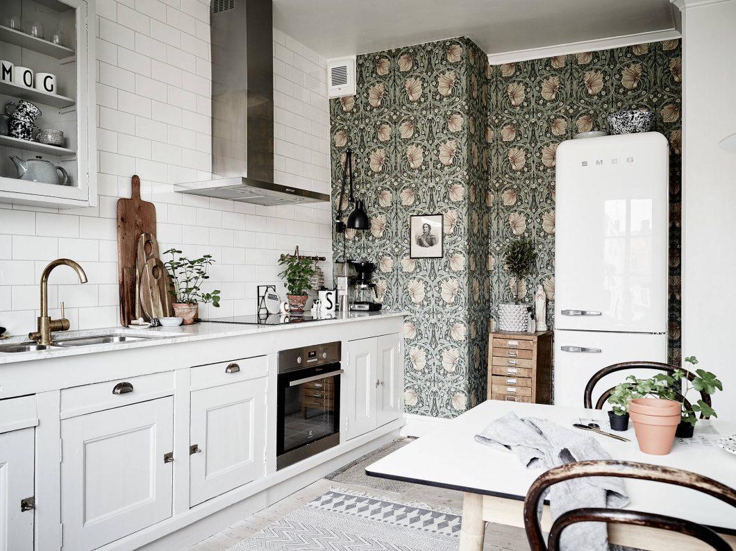 Siiiii Al Papel Pintado En La Cocina Interiores Chic Blog De