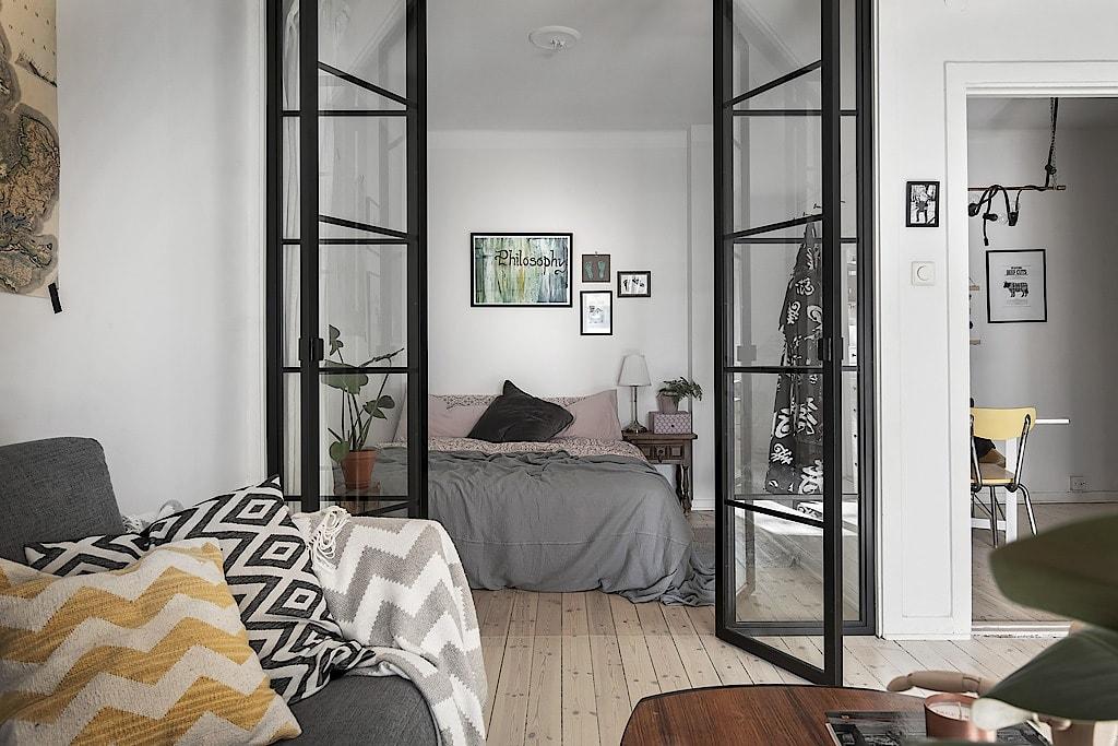 Puertas de cristal el para so n rdico interiores chic blog de decoraci n n rdica - Blog de decoracion de interiores ...