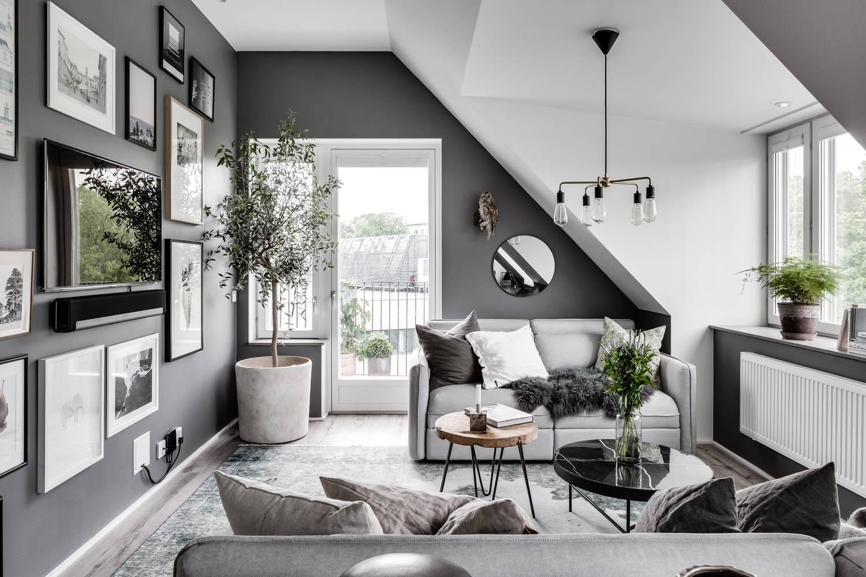 Combinar Color Gris Pintura Interiores Chic Blog De Decoraci N  ~ Colores De Pintura Para Interiores