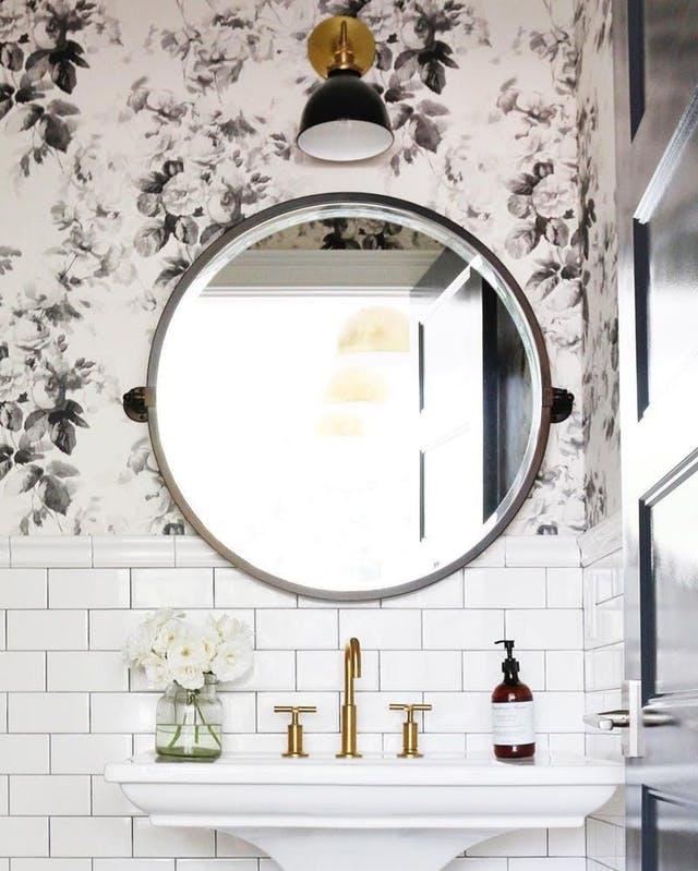 Espejos Redondos Para El Cuarto De Ba 241 O Interiores Chic