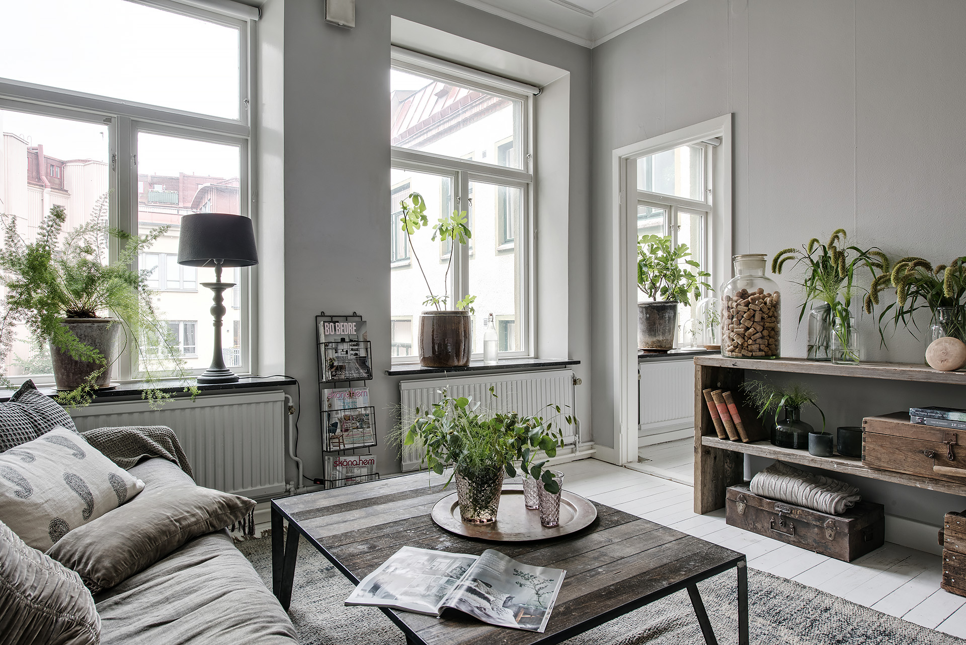 Estancias llenas de vida con plantas interiores chic - Blog decoracion interiores ...