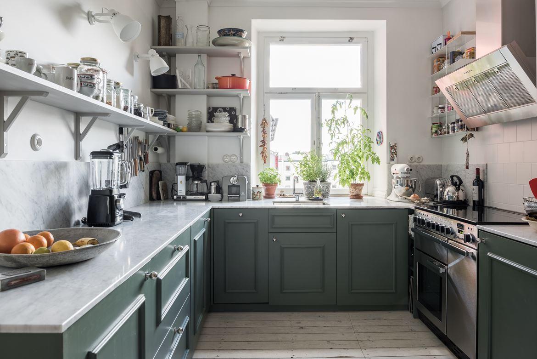 Cocinas interiores chic blog de decoraci n n rdica for Cocinas en departamentos pequenos