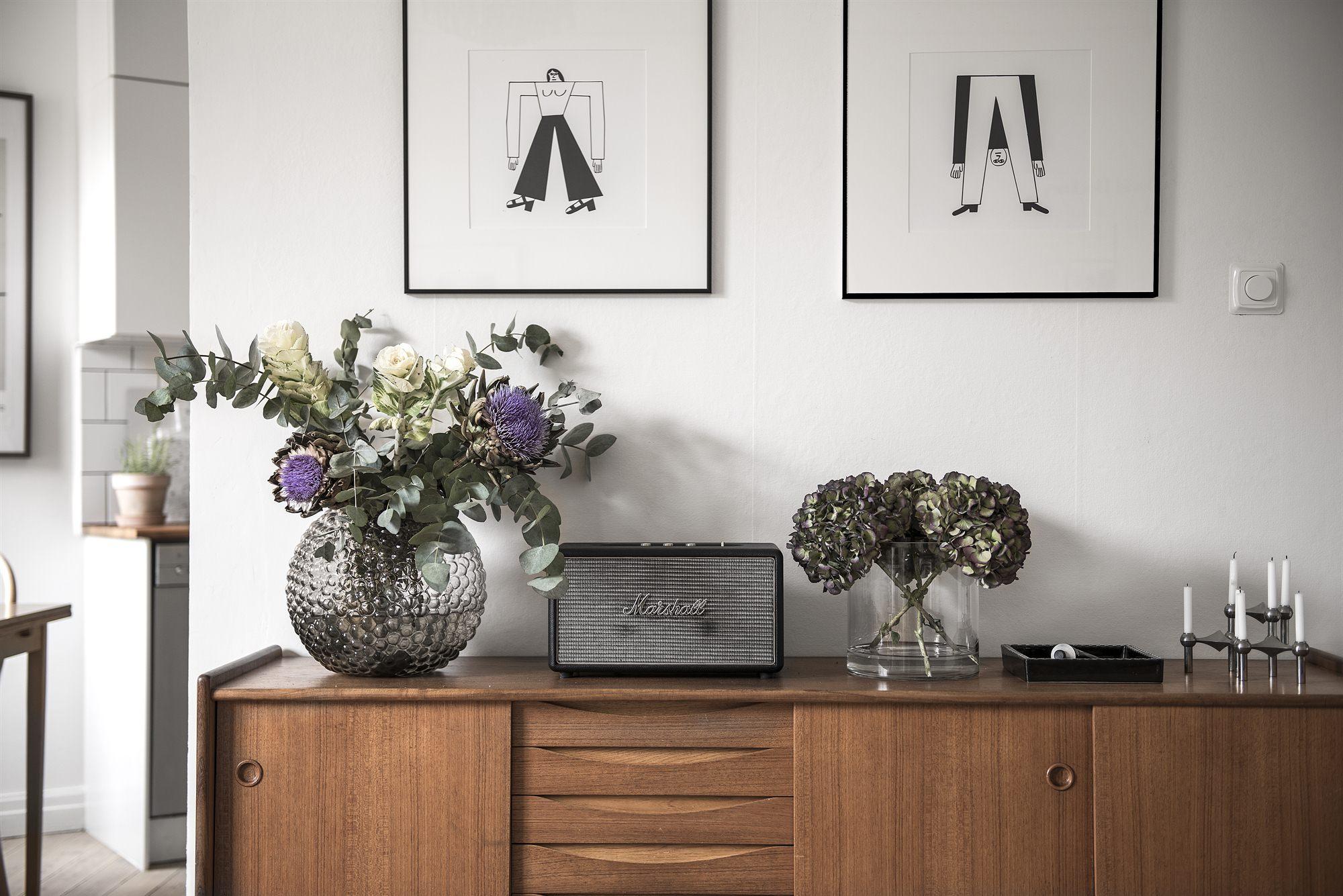 Decorar con aparadores vintage chic interiores chic for Decorar un minipiso