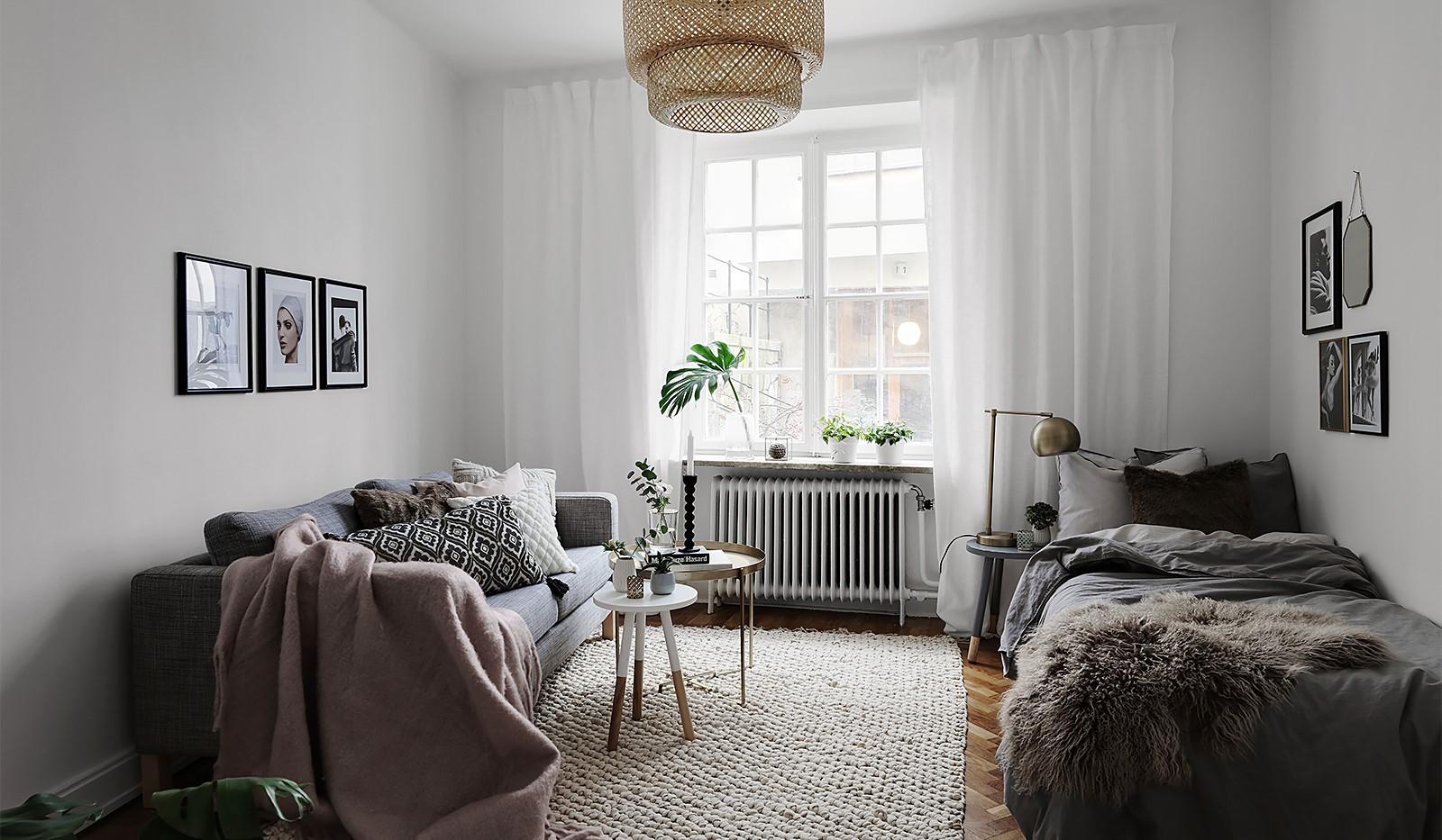 C mo decorar un mini apartamento con un presupuesto bajo for Decorar un minipiso