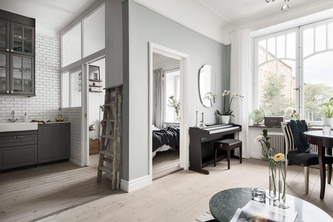 Dise o escandinavo para un minipiso interiores chic blog de decoraci n n rdica - Blog de decoracion de interiores ...