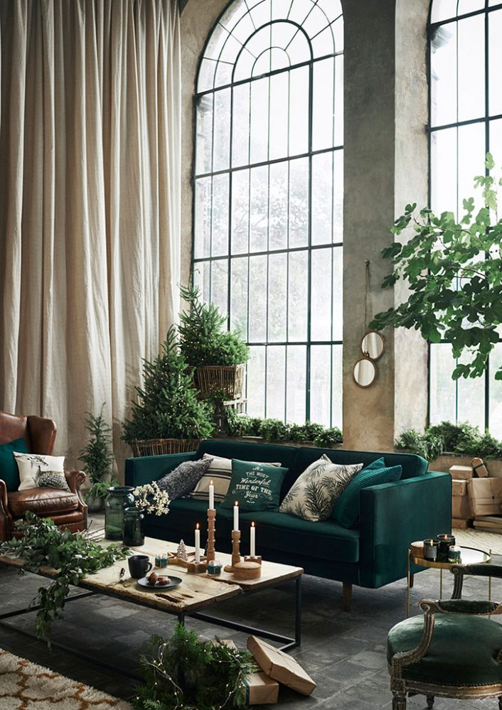 no l 2017 h m home interiores chic blog de decoraci n. Black Bedroom Furniture Sets. Home Design Ideas