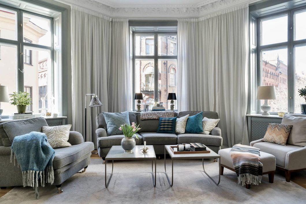 Como Decorar Un Salon Irregular Interiores Chic Blog De - Como-decorara-un-salon