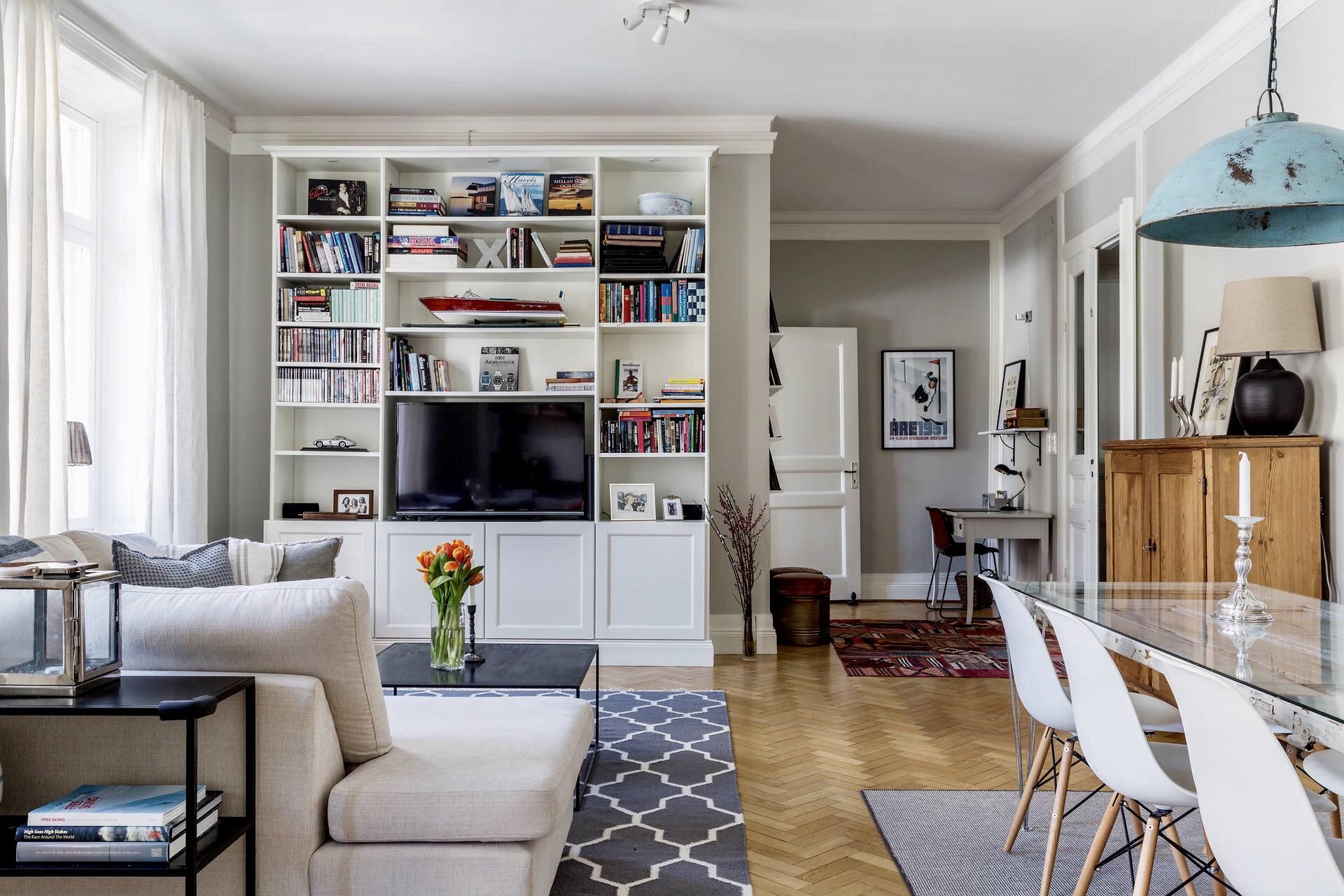 Ideas de decoración para un salon comedor rectangular. – Interiores ...