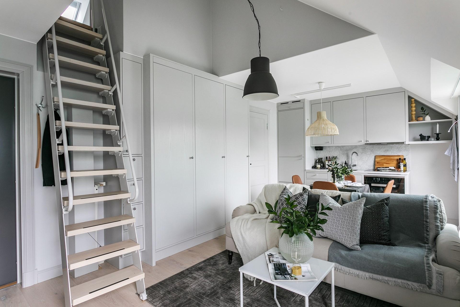 Dise ar una cocina abierta al sal n interiores chic for Apartamento de decoracion interior